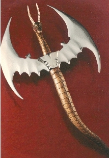 Flame dragon axe